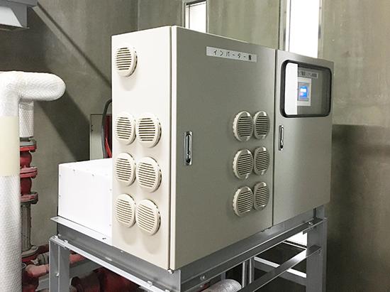 給水ポンプバックアップ電源システム